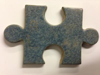 Leadless Stoneware Glaze (1200-1280°c) - Mottled Blue Grey