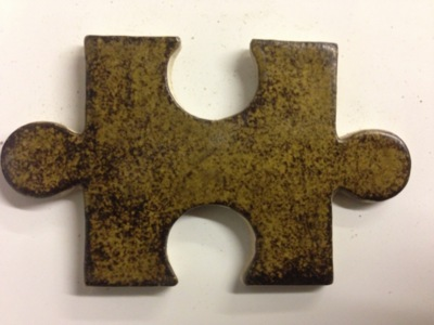 Leadless Stoneware Glaze (1200-1280°c) - Green Brown Matt