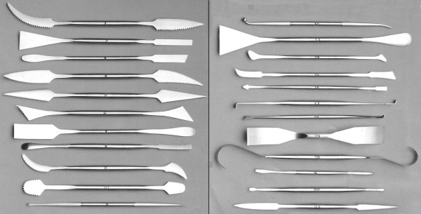 forged steel modelling tools