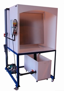 Wet Back Spray Booth Large