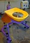 Special Needs Potters Wheel